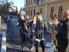 Nastop na otvoritvi varne poti do šole, Radeče, oktober 2018