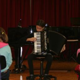 Nadja Kranjc, harmonika 18. 2. 2015