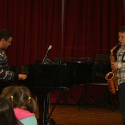 Martin Bošnjak, saksofon 18. 2. 2015