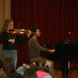 Zarja Jakšič, violina 18. 2. 2015