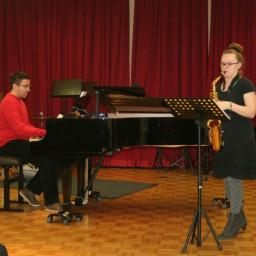 Brita Bautin, saksofon