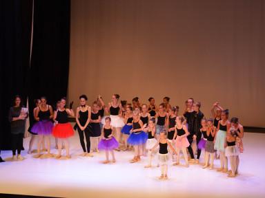 Baletna predstava za vrtce in OŠ Tolminske