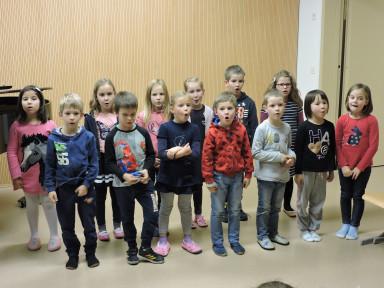 Razredni nastop pianistov in učencev GP Katje Skočir