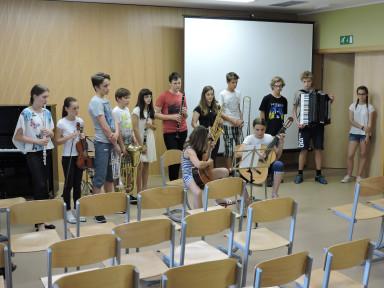 Predstavitev instrumentov Kobarid