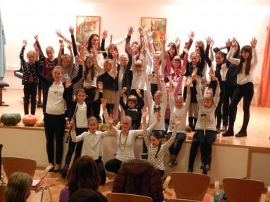 Razredni nastop učencev flavte, oboe in KFL