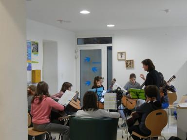 Intenzivne vaje orkestrov GŠ Tolmin, 2. dan