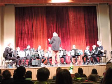 Harmonikarski orkester GŠ Tolmin in Aleksander Ipavec