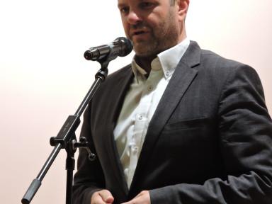 Župan Uroš Brežan