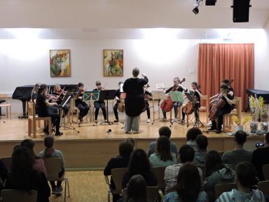 Orkestrski večeri GŠ Tolmin
