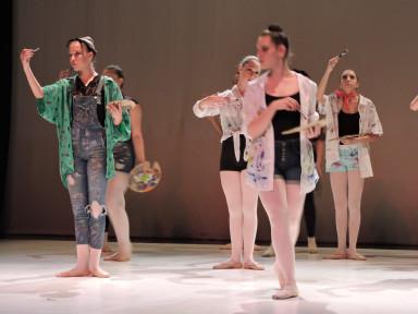 Izlet v galerijo, plesna predstava