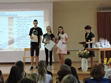 Nastop absolventov GŠ Tolmin
