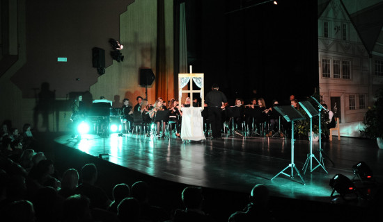 Glasbena pravljica - zgodba na pihala