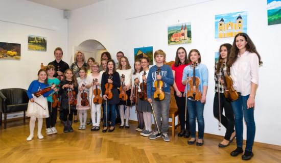 Nastop učencev violine iz razreda prof.…