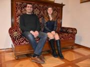 Olja Faletič in Stojan Milinković