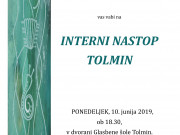 Interni nastop TOLMIN