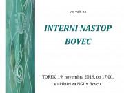 Interni nastop BOVEC