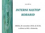 Interni nastop KOBARID