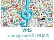 VPIS V PROGRAME Glasbene šole Tolmin