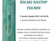 Nastop učencev TOLMIN