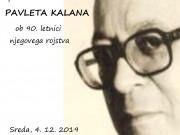 Spominski večer skladb Pavleta Kalana