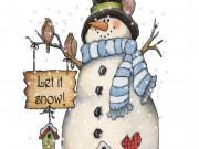 Plesna predstava Snežak